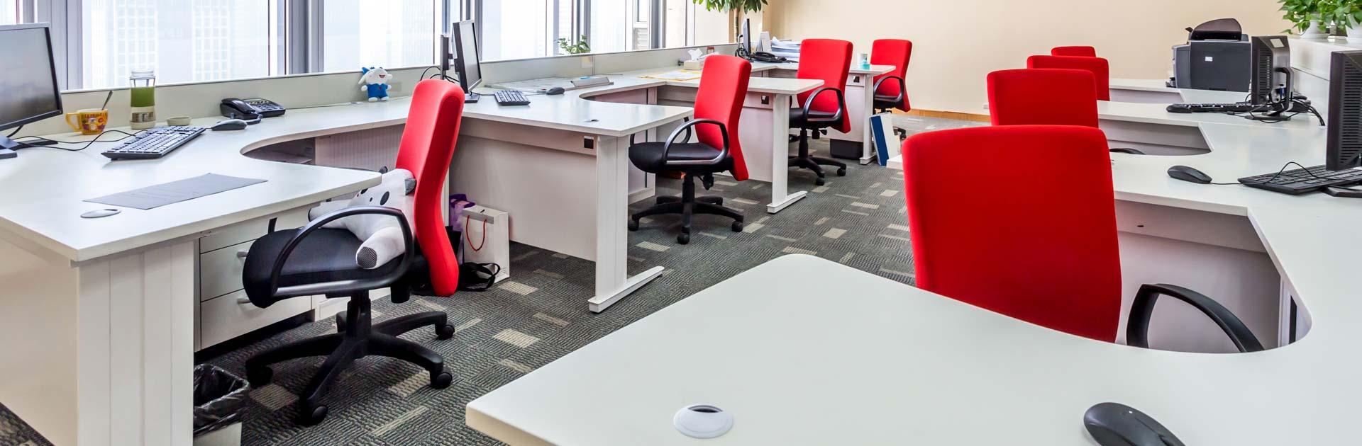 Flying Desk: So funktioniert das System wechselnder Arbeitsplätze