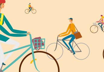 Beschäftigte zum Fahrradfahren ermutigen